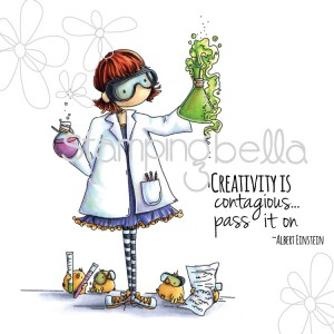Stamping Bella Cling Stamps - Tiny Townie Sage The Scientist