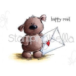 Stamping Bella Cling Stamps - Harry Has Happy Mail