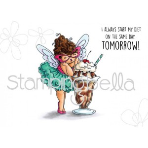 Stamping Bella Cling Stamps - Edna Loves Ice Cream