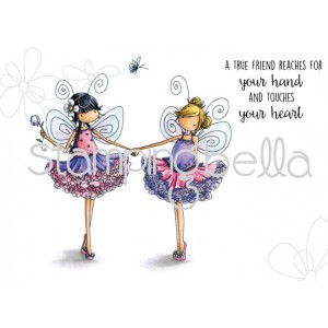 Stamping Bella Cling Stamps - Tiny Townie Fairy Best Friends
