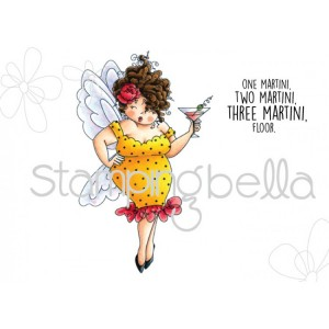 Stamping Bella Cling Stamps - Edna Needs A Martini