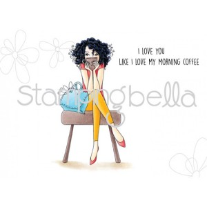 Stamping Bella Cling Stamps - Don't Talk To Me Before My Coffee Bella