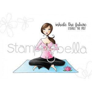 Stamping Bella Cling Stamps - Yoga Bella