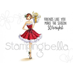 Stamping Bella Cling Stamps - Christmas-Gift-a-Bella