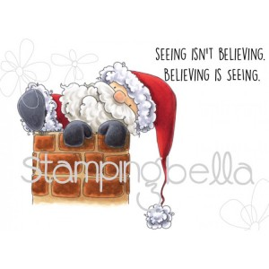 Stamping Bella Cling Stamps - Santa Is Stuck