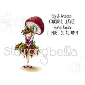 Stamping Bella Cling Stamps - Tiny Townie Autumn Loves Autumn