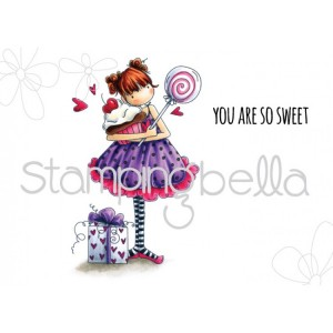 Stamping Bella Cling Stamps - Tiny Townie Sammy Is Sweet