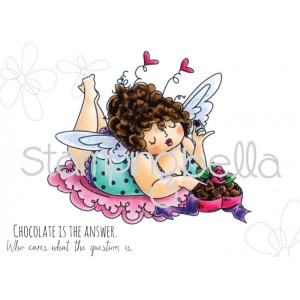 Stamping Bella Cling Stamps - Edna Loves Chocolate
