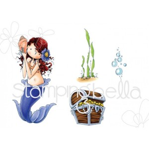 Stamping Bella Cling Stamps - Tiny Townie Mermaid