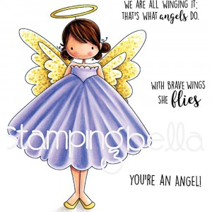 Stamping Bella Cling Stamps - Annie Is An Angel