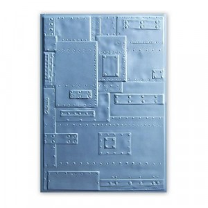 Sizzix 3D Embossing Folder Prägeschablone - Foundry