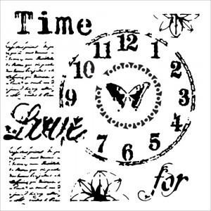 Crafter's Workshop Template 6x6 - Time For Love