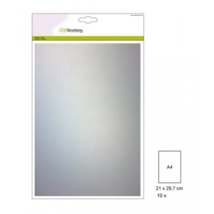 CraftEmotions Vellum A4 - Transparentpapier weiß