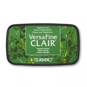 VersaFine Clair Pigment Stempelkissen - Vivid Green Oasis