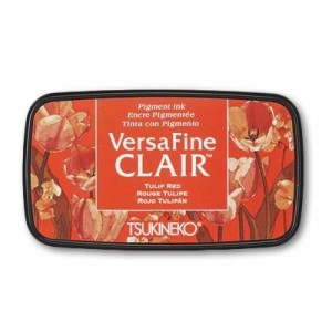 VersaFine Pigment Stempelkissen - Vivid Tulip Red