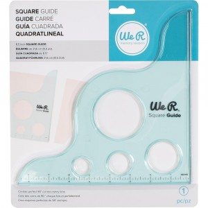 Square Guide von We R Memory Keepers