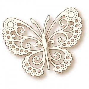 Wild Rose Studio Stanzschablone - Butterfly Lace