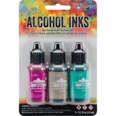 Adirondack Alcohol Inks - 3er Set Valley Trail