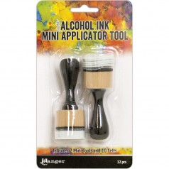 Alcohol Ink Mini Applicator rund