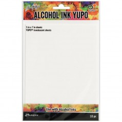 Tim Holtz Alcohol Ink Yupo Paper - Translucent 12,7 x 17,8 cm