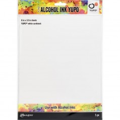 Tim Holtz Alcohol Ink Yupo Paper - White 20,3 x 25,4 cm