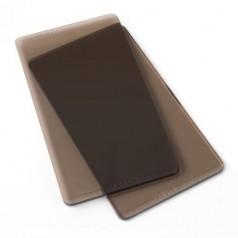 Sizzix Bigshot/Sidekick Ersatzplatten 12,4 x 6,4 cm smokey