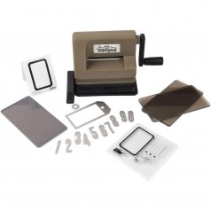 Sizzix Sidekick Starter Kit von Tim Holtz Brown & Black