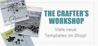 Neue Templates von Crafter Workshop im Shop!