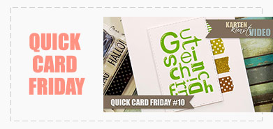 Quick Card Friday